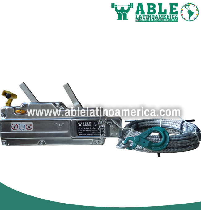Polipasto a cable 1600kg