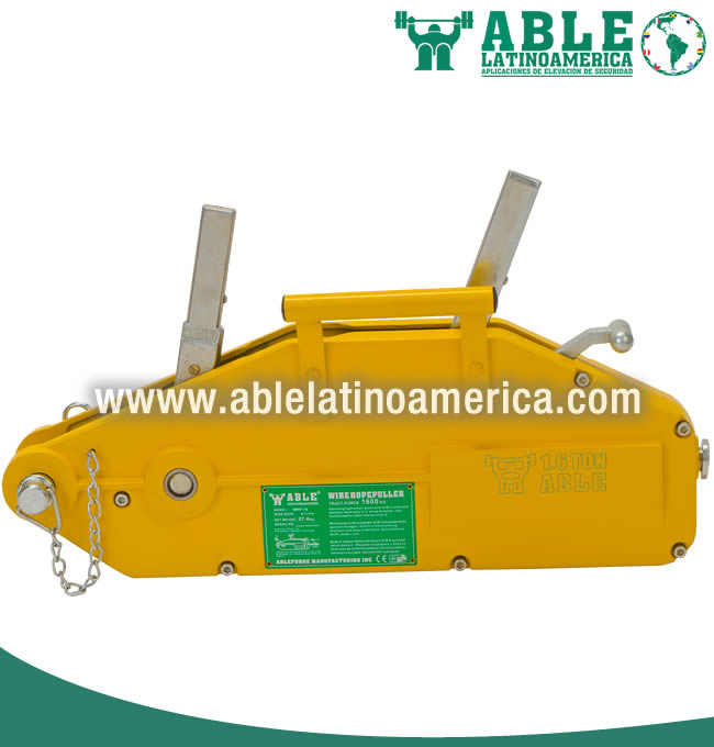 Polipasto o Tirfor a cable WRP 1.6T